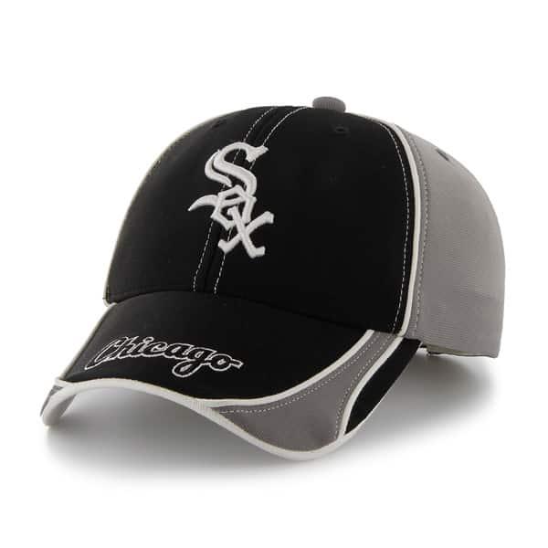 Chicago White Sox Convex Dark Gray 47 Brand Adjustable Hat