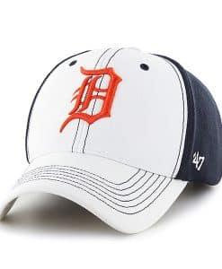 san francisco 8a203 e9435 Detroit Tigers Cooler MVP White 47 Brand Adjustable Hat