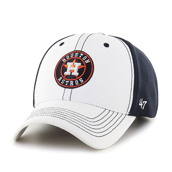 Houston Astros Cooler MVP White 47 Brand Adjustable Hat
