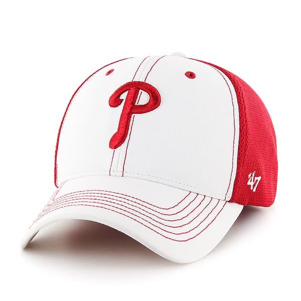 Philadelphia Phillies Cooler MVP White 47 Brand Adjustable Hat