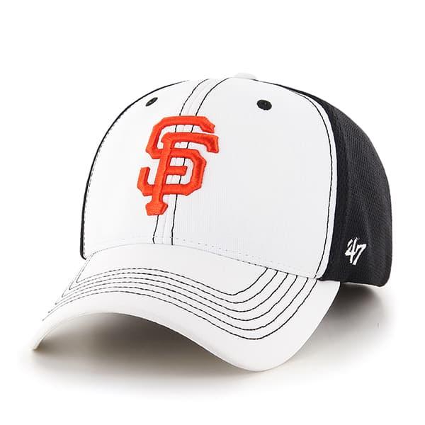 San Francisco Giants Cooler MVP White 47 Brand Adjustable Hat
