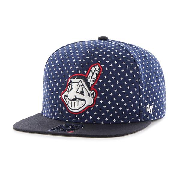Cleveland Indians Cr 47 Brand Stretch Fit Hatbreed Captain Dyer 47 Brand Adjustable Hat