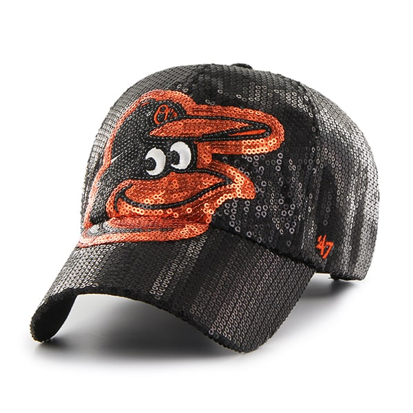 Baltimore Orioles Dazzle Black 47 Brand Womens Hat