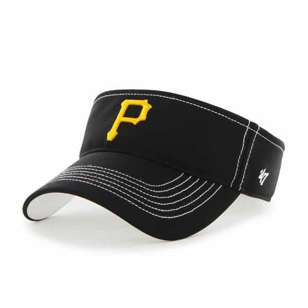 Pittsburgh Pirates Defiance Visor Black 47 Brand Adjustable Hat