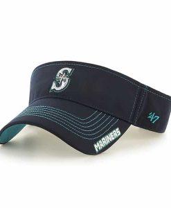 Seattle Mariners Dark Twig Visor Navy 47 Brand Adjustable Hat
