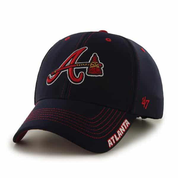 Atlanta Braves Dark Twig Navy 47 Brand Adjustable Hat