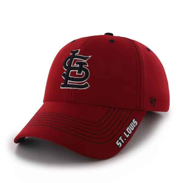 St. Louis Cardinals Dark Twig Red 47 Brand Adjustable Hat