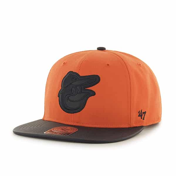 Baltimore Orioles Delancey Captain Orange 47 Brand YOUTH Hat