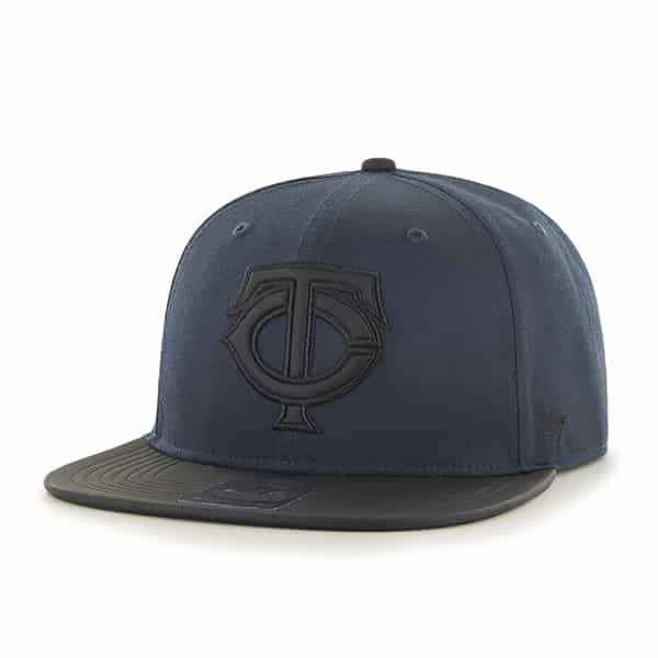 Minnesota Twins Delancey Captain Navy 47 Brand YOUTH Hat