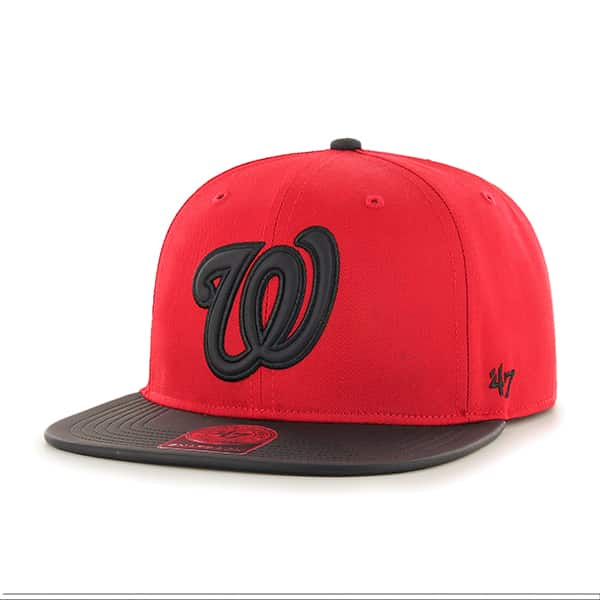 Washington Nationals Delancey Captain Red 47 Brand YOUTH Hat