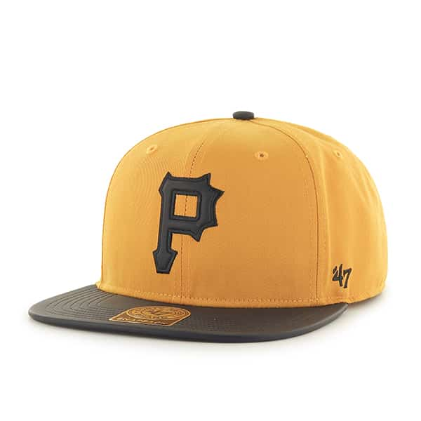 Pittsburgh Pirates Delancey Captain Gold 47 Brand YOUTH Hat