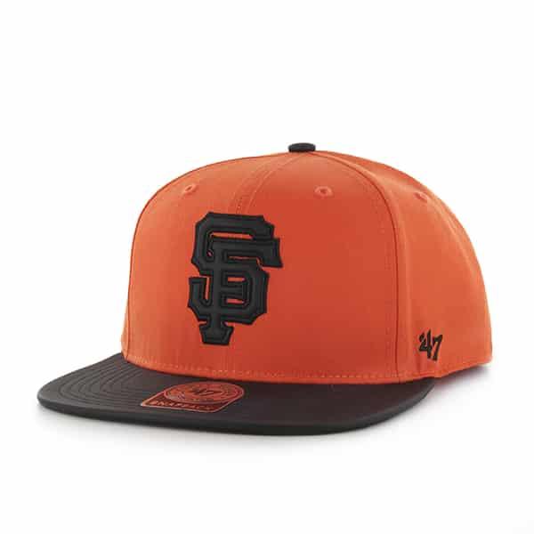San Francisco Giants Delancey Captain Orange 47 Brand YOUTH Hat