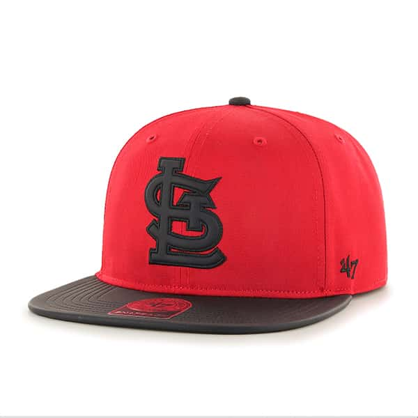 St. Louis Cardinals Delancey Captain Red 47 Brand YOUTH Hat