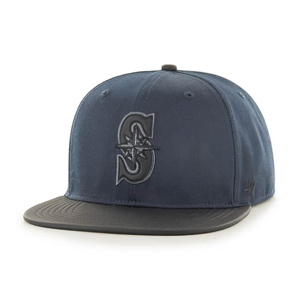 Seattle Mariners Delancey Captain Navy 47 Brand YOUTH Hat