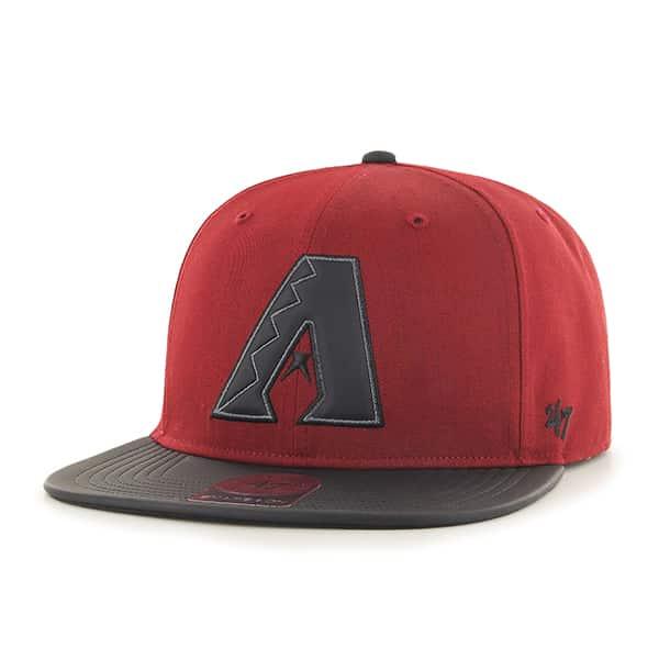 Arizona Diamondbacks Delancey Captain Razor Red 47 Brand Adjustable Hat