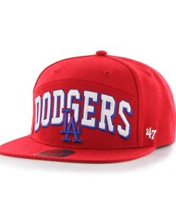 Los Angeles Dodgers Devoe Captain Sf Red 47 Brand Adjustable Hat