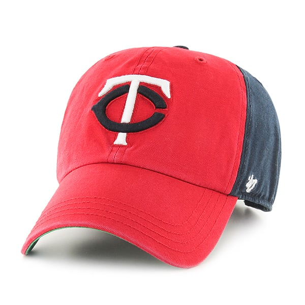 Minnesota Twins Flagstaff Clean Up Navy 47 Brand Adjustable Hat