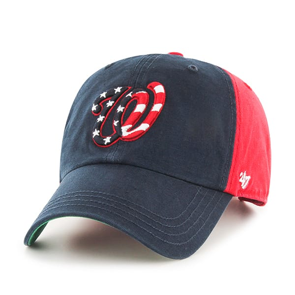 Washington Nationals Flagstaff Clean Up Red 47 Brand Adjustable Hat