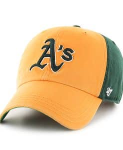 Oakland Athletics Flagstaff Clean Up Dark Green 47 Brand Adjustable Hat