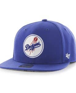 Los Angeles Dodgers Fulton Captain Royal 47 Brand Adjustable Hat