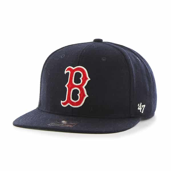 Boston Red Sox Fowler Captain Navy 47 Brand Adjustable Hat