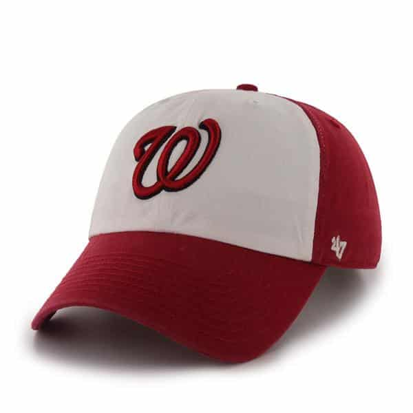 Washington Nationals Freshman Red 47 Brand Adjustable Hat