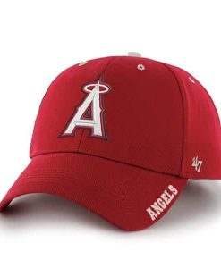 Los Angeles Angels Frost Red 47 Brand Adjustable Hat