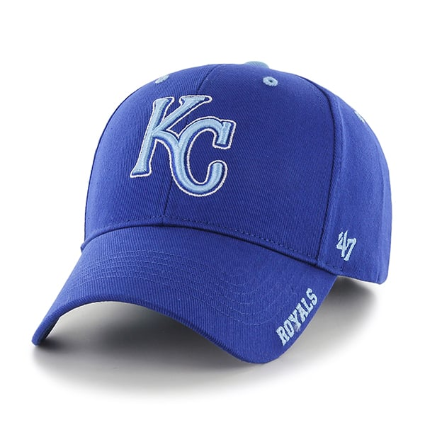 Kansas City Royals Frost Royal 47 Brand Adjustable Hat
