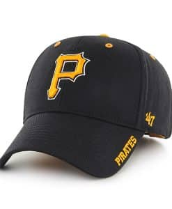 Pittsburgh Pirates Frost Black 47 Brand Adjustable Hat