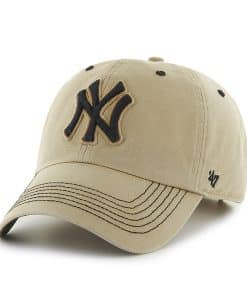 New York Yankees Gibbs Clean Up Bone 47 Brand Adjustable Hat