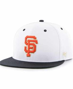 San Francisco Giants Gold Vein Captain White 47 Brand Adjustable Hat