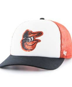 Baltimore Orioles Glimmer Captain Cf Orange 47 Brand Womens Hat