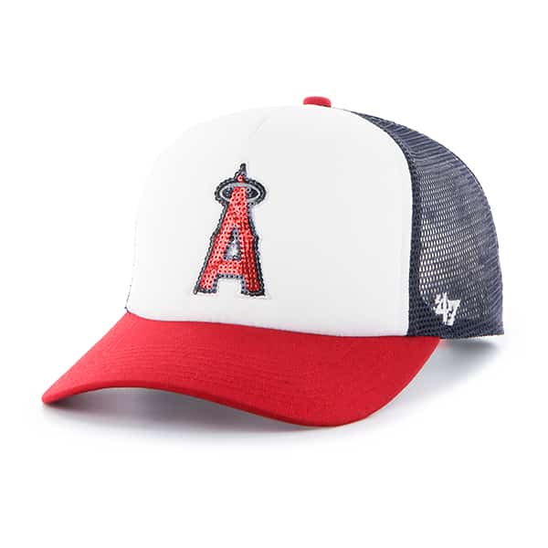 Los Angeles Angels Glimmer Captain Cf Navy 47 Brand Womens Hat