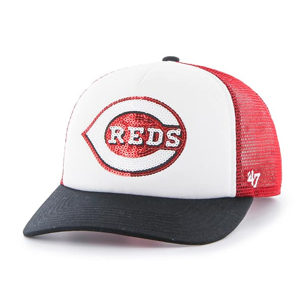 Cincinnati Reds Glimmer Captain Cf Red 47 Brand Womens Hat