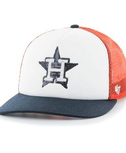 Houston Astros Glimmer Captain Cf Orange 47 Brand Womens Hat
