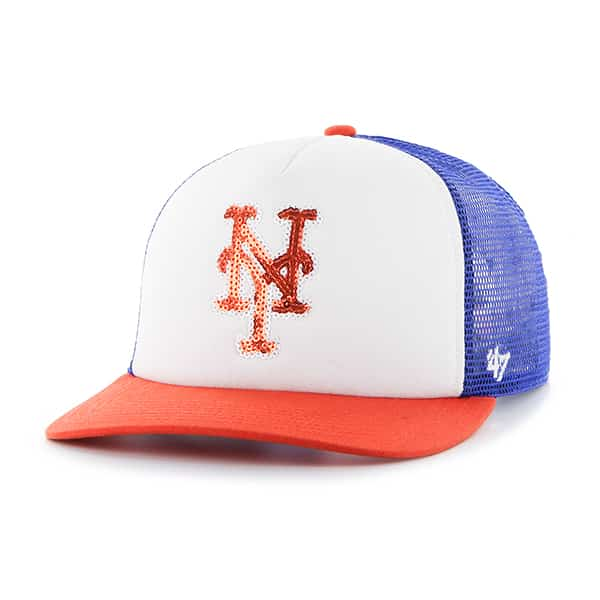New York Mets Glimmer Captain Cf Royal 47 Brand Womens Hat