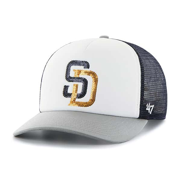 San Diego Padres Glimmer Captain Cf Navy 47 Brand Womens Hat