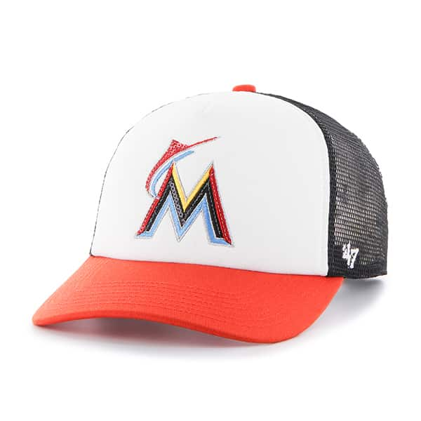 Miami Marlins Glimmer Captain Cf Black 47 Brand Womens Hat
