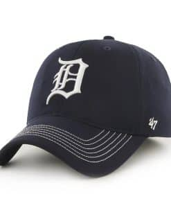 Detroit Tigers Game Time Closer Navy 47 Brand Stretch Fit Hat