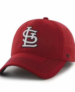 St. Louis Cardinals Game Time Closer Red 47 Brand Stretch Fit Hat