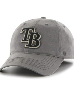 Tampa Bay Rays Grayhound Dark Gray 47 Brand Stretch Fit Hat
