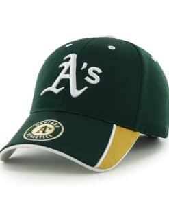 Oakland Athletics Mass Graven Dark Green 47 Brand Adjustable Hat