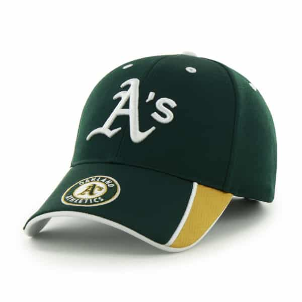 Oakland Athletics Mass Graven Dark Green 47 Brand Adjustable Hat