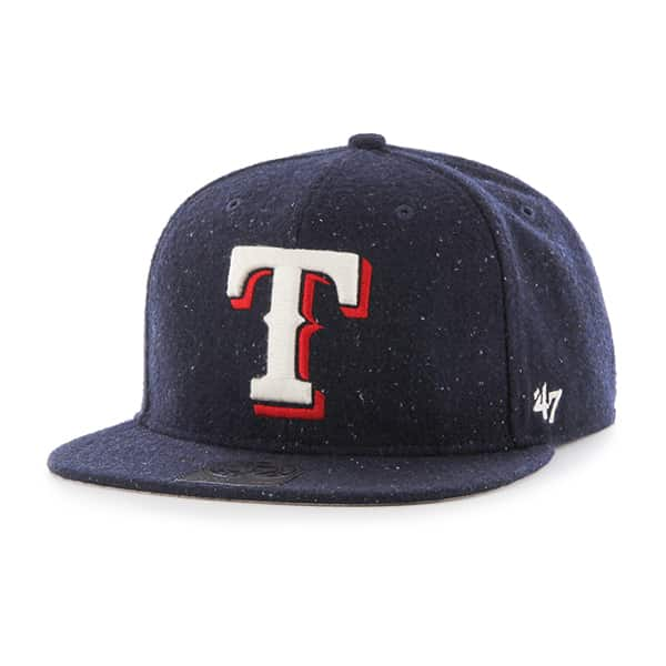 Texas Rangers Hail Storm Captain Navy 47 Brand Adjustable Hat