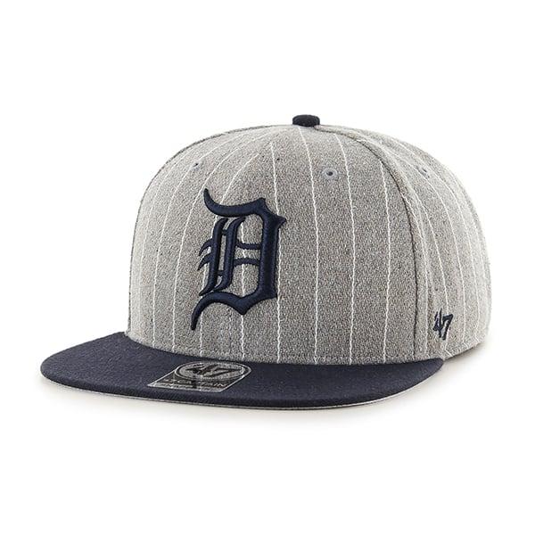 Detroit Tigers Holbrook Captain Gray 47 Brand Adjustable Hat