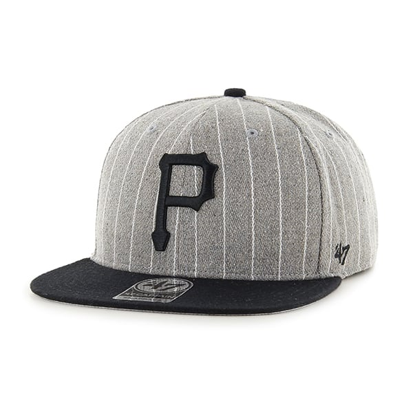 Pittsburgh Pirates Holbrook Captain Gray 47 Brand Adjustable Hat