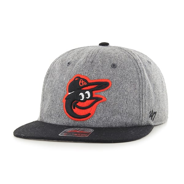 Baltimore Orioles Hempstead Captain Rf Gray 47 Brand Adjustable Hat