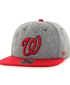 Washington Nationals Hempstead Captain Rf Gray 47 Brand Adjustable Hat