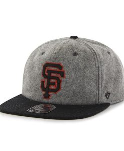 San Francisco Giants Hempstead Captain Rf Gray 47 Brand Adjustable Hat