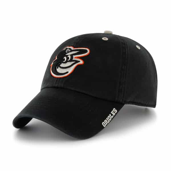 Baltimore Orioles Ice Black 47 Brand Adjustable Hat